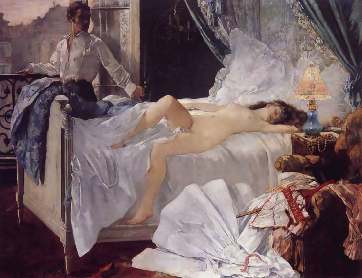 """Rolla"" by Henri Gervex, 1878."