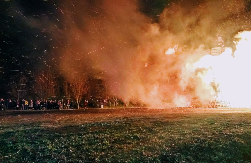 "Burning ""La Befana"" – Very Much A Local Tradition"